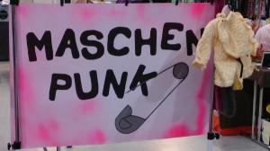 Maschenpunk-Banner