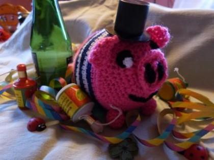 Miffy das Glücksschwein - Maschenpunk