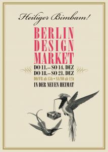 Plakat zum Bim-Bam Weihnachtsmarkt