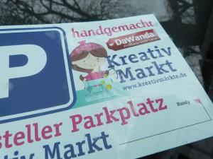 Aussteller Parkkarte Kreativmarkt Chemmnitz