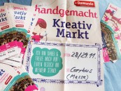 Werbeplakat für den Kreativmarkt