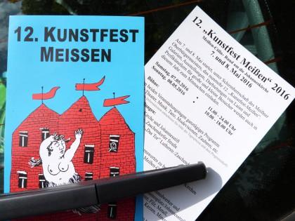 Flyer und Programm 12.Kunstfest