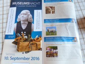 Einladung zur Museumsnacht in Sacro