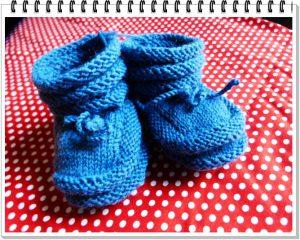 weiche Fußwärmer fürs Baby